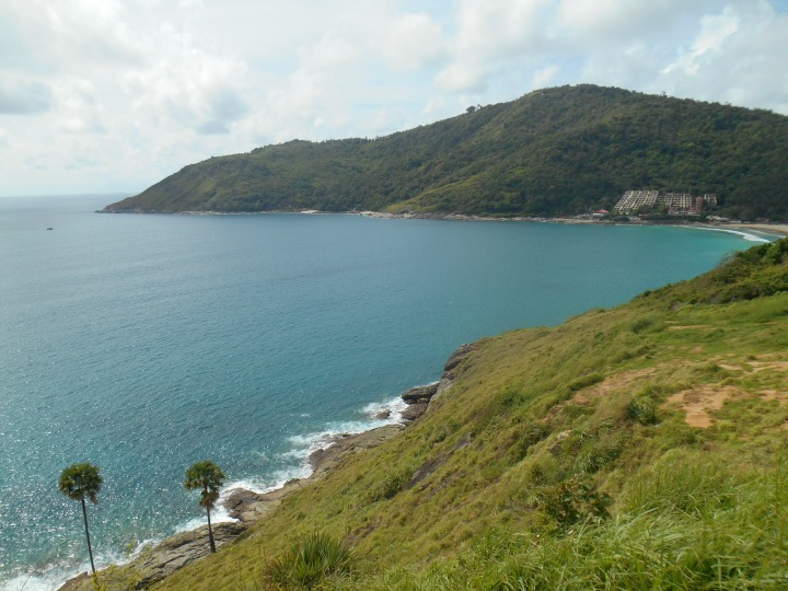 Viewpoint overlooking Nai Harn beach.
