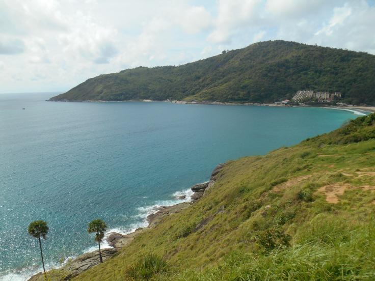 Viewpoint overlooking Nai Harn beach.