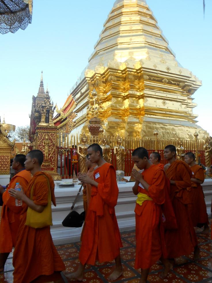 Wat Phra That Doi Suthep in Chiang Mai.