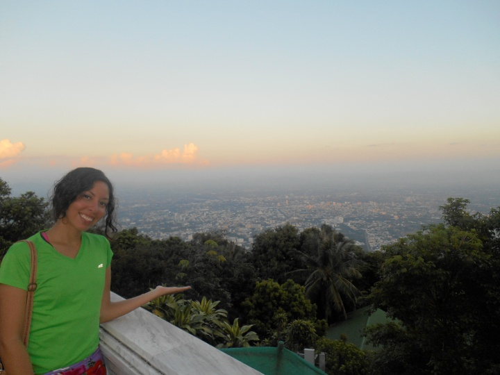 Viewpoint overlooking Chiang Mai.