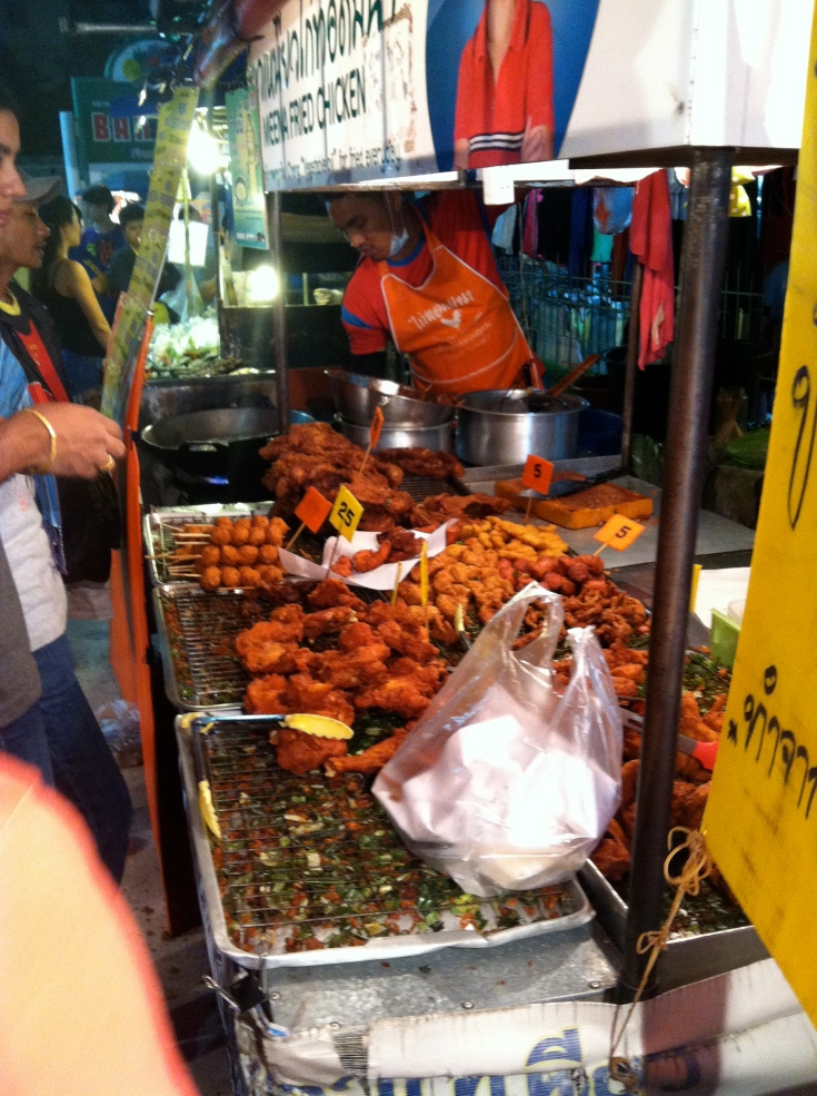 Yummy street food in Patong.